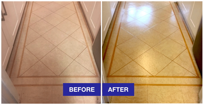 amtico floor cleaning in liverpool before and after from xl cleaners